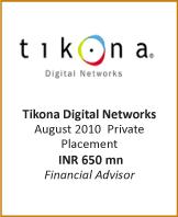 IB-Transactions-FA-Tikona Digital Networks -Aug 2010